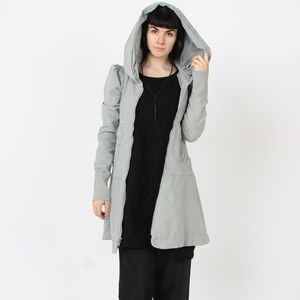 Long Cloak Hoodie in Blonde Sky